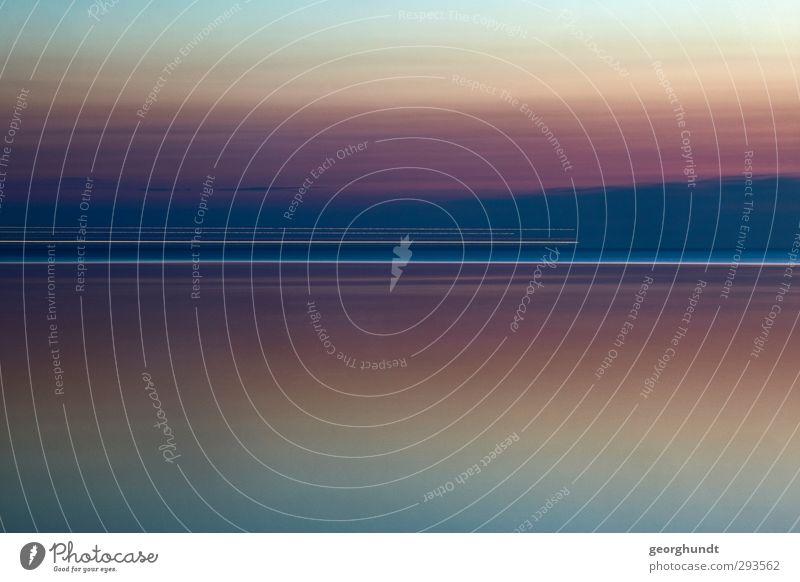 zieht vorbei wie im Flug I Umwelt Natur Landschaft Luft Wasser Himmel Horizont Sommer Ostsee Meer Insel Schifffahrt Wasserfahrzeug Bewegung Erholung fahren