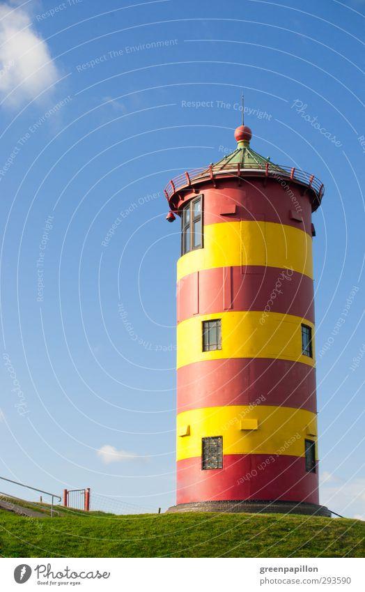 Pilsumer Leuchtturm - Ottos Leuchtturm Küste Strand Nordsee Meer Sehenswürdigkeit Ferien & Urlaub & Reisen krummhörn pilsumer leuchtturm Greetsiel Ostfriesland