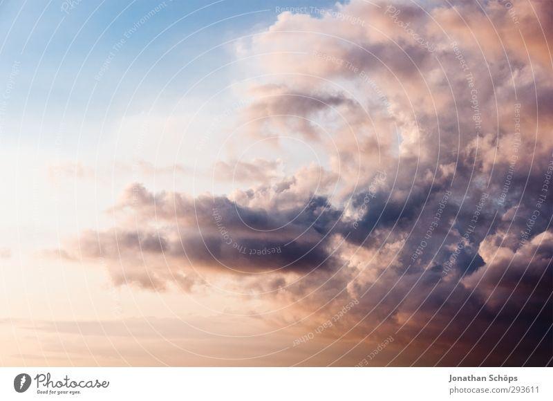 Korsika XXVIII Himmel Ferien & Urlaub & Reisen Himmel (Jenseits) Sommer Meer Erholung Wolken Freiheit Luft Idylle Lebensfreude violett Frankreich Sommerurlaub