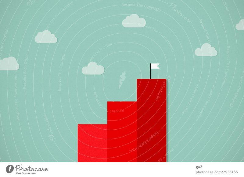 Wachstum Business ästhetisch Erfolg Zukunft lernen kaufen Industrie Wandel & Veränderung Grafik u. Illustration Zeichen Baustelle planen Ziel Geldinstitut