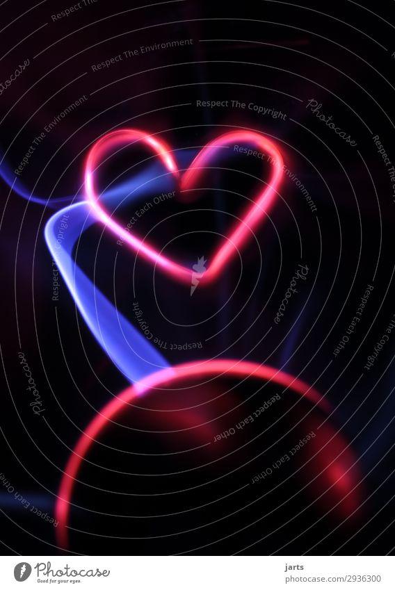the power of love II Technik & Technologie High-Tech Energiewirtschaft Erneuerbare Energie Glas Herz leuchten außergewöhnlich heiß Liebe Kreativität