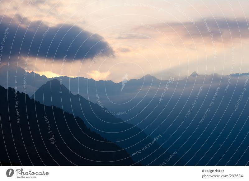 himmelhoch Freizeit & Hobby Ferien & Urlaub & Reisen Ferne Freiheit Berge u. Gebirge wandern Umwelt Natur Landschaft Himmel Wolken Sonnenaufgang Sonnenuntergang