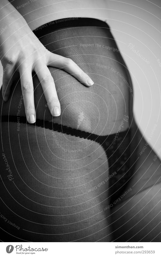 erotik schön Körper feminin Junge Frau Jugendliche 1 Mensch 18-30 Jahre Erwachsene Unterwäsche ästhetisch Gefühle Liebe Romantik Erotik Begierde Lust Sex