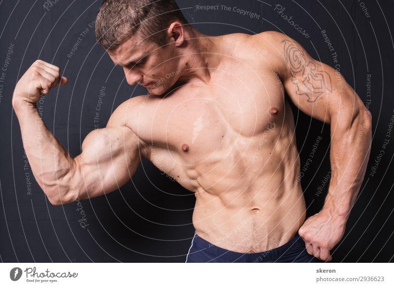 Mensch Jugendliche nackt Junger Mann Gesundheit 18-30 Jahre Lifestyle Erwachsene natürlich Sport Gesundheitswesen Party Arbeit & Erwerbstätigkeit maskulin Kraft