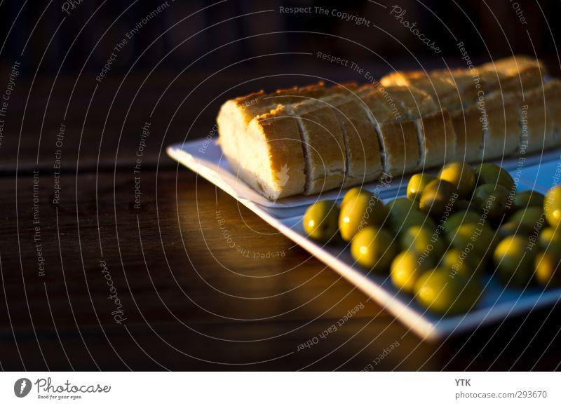 Sundown Snack grün Essen Gesundheit Stimmung Lebensmittel Ernährung Gastronomie Appetit & Hunger lecker Dienstleistungsgewerbe Geschirr Restaurant Brot Teller Abendessen saftig