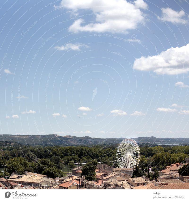 Avignon Himmel Natur Ferien & Urlaub & Reisen Stadt Sommer Baum Freude Landschaft Wolken Haus Wald Umwelt Ferne Horizont Freizeit & Hobby Lifestyle
