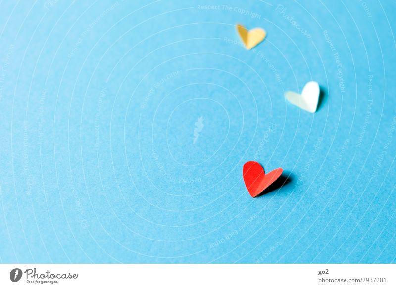 Papierherzen Freude Liebe Gefühle Glück Zusammensein Freundschaft Zufriedenheit Freizeit & Hobby Geburtstag ästhetisch Herz Fröhlichkeit Lebensfreude Romantik