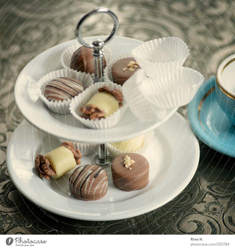 HighCarb Ernährung süß Lebensfreude lecker Süßwaren Tasse silber Schokolade Schalen & Schüsseln Diät Konfekt Tablett Genusssucht