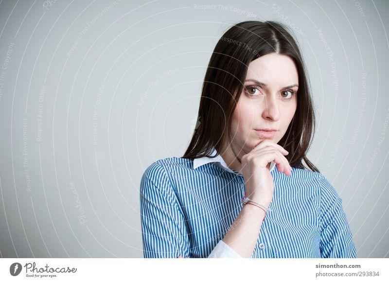 Business Mensch Frau Jugendliche Junge Frau 18-30 Jahre Erwachsene Erfolg lernen Studium Bildung stark Student Sitzung Berufsausbildung Karriere