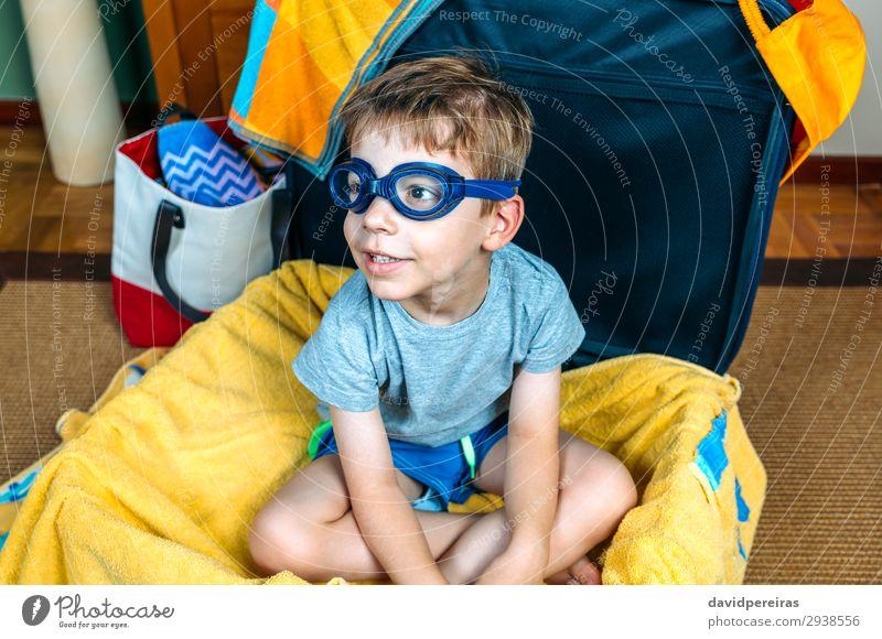 Kind Mensch Ferien & Urlaub & Reisen Mann Sommer Hand Freude Strand Lifestyle Erwachsene lustig Familie & Verwandtschaft Junge Ausflug Freizeit & Hobby Lächeln