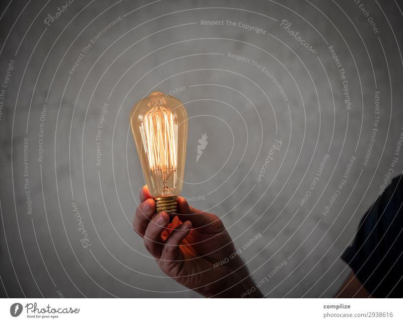 Glühbirne Edison in der Hand Stil Häusliches Leben Wohnung Renovieren Umzug (Wohnungswechsel) Innenarchitektur Dekoration & Verzierung Möbel Lampe Raum
