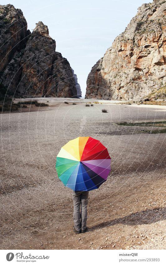 Cloudy Days. Sonne Berge u. Gebirge Reisefotografie Kunst außergewöhnlich Zufriedenheit Fröhlichkeit ästhetisch Abenteuer Kreativität Idee Punkt Jugendkultur Regenschirm entdecken Wachsamkeit