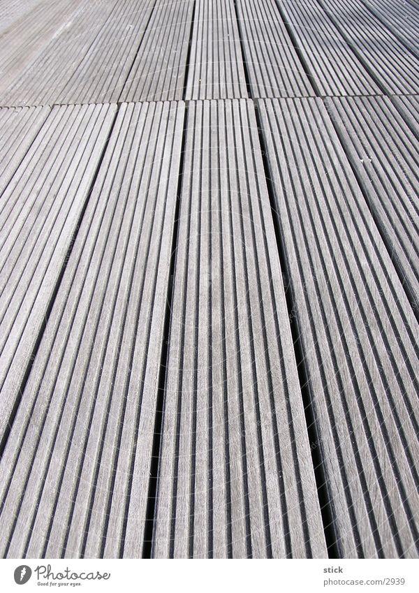 Dielenperspektive Holz Holzbrett Häusliches Leben Bodenbelag Perspektive Strukturen & Formen Flur