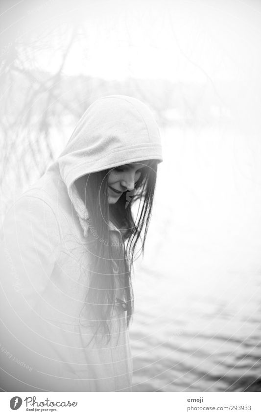 [analog portrait ] II Mensch Jugendliche weiß Junge Frau Erwachsene feminin 18-30 Jahre hell einzigartig analog langhaarig Kapuze