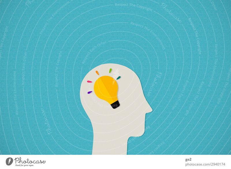 Idea Spielen Bildung Wissenschaften Schule Studium Medienbranche Werbebranche Mensch Kopf 1 Zeichen Energie entdecken Erfolg Fortschritt Idee innovativ