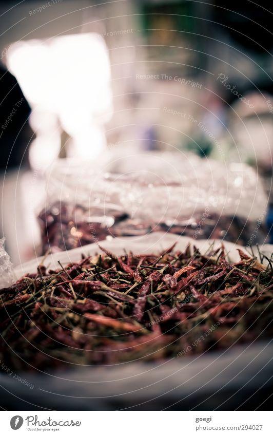 dry and spicy Essen Lebensmittel Kochen & Garen & Backen Scharfer Geschmack Kräuter & Gewürze Markt Chili Asiatische Küche Capsaicin