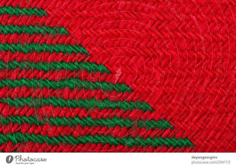 Weihnachten & Advent grün rot Winter Mode Design Dekoration & Verzierung Streifen retro Jahreszeiten Tapete Handwerk Material Tradition Pullover Geometrie
