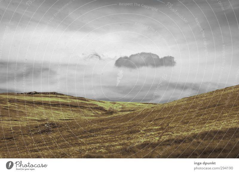 Schmuddelwetter Himmel Natur Pflanze Wolken Landschaft Umwelt Ferne dunkel Berge u. Gebirge kalt Herbst Klima Tourismus leer Abenteuer Hügel