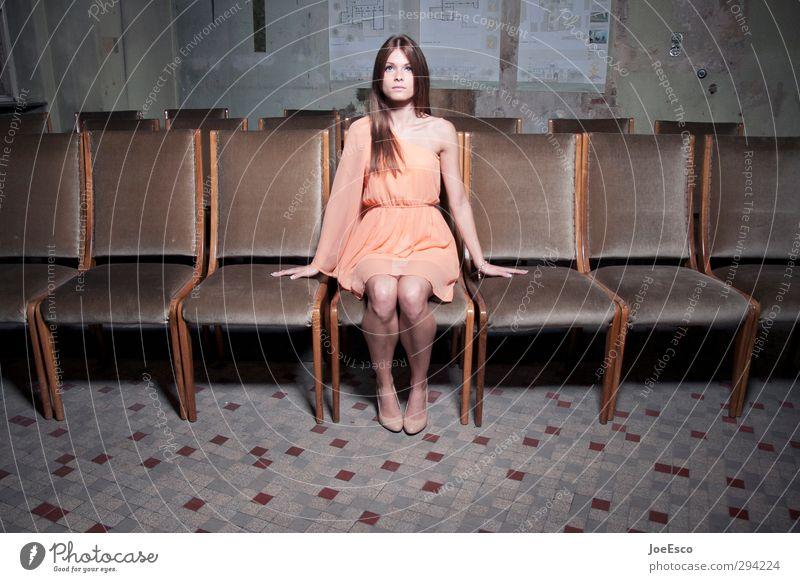 #232835 Lifestyle Freizeit & Hobby Sessel Stuhl Nachtleben Entertainment Veranstaltung Musik ausgehen Frau Erwachsene Leben 1 Mensch Theaterschauspiel Show