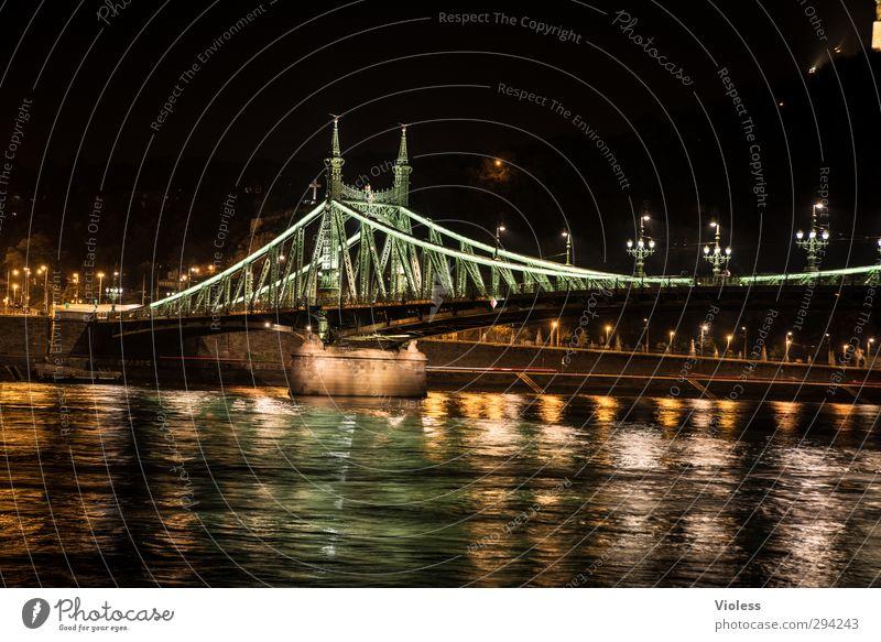 Szabadság híd Brücke historisch Wahrzeichen Sehenswürdigkeit Hauptstadt Donau Budapest