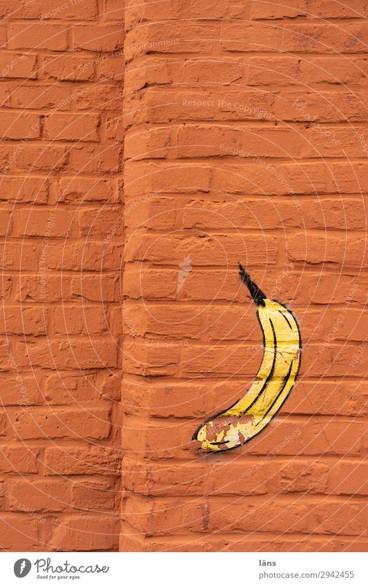alles Banane Graffiti Wand Mauer Eyecatcher Kassel Landkreis Kassel