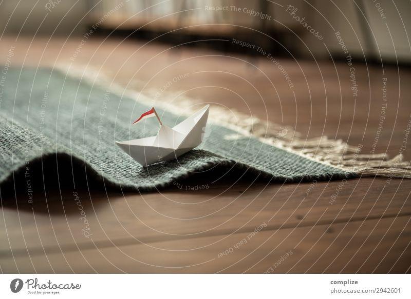 Sailing Home with Paper Boat Lifestyle Stil Freude Glück Wellness Freizeit & Hobby Basteln Modellbau Handarbeit Ferien & Urlaub & Reisen Ferne Freiheit
