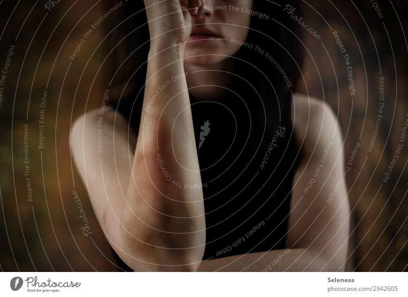 autschn Körper Haut Gesundheit Krankenpflege Mensch feminin Arme 1 gereizt Feindseligkeit Rache Aggression Gewalt Schmerz Häusliche Gewalt Misshandlung