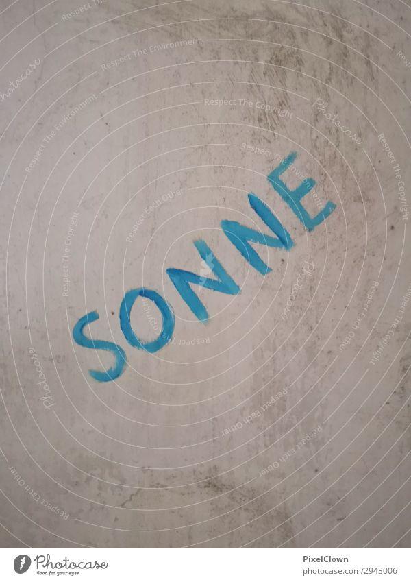 Graffiti VIII blau Stadt Lifestyle lachen Kunst Stimmung Kultur Jugendkultur Entertainment Subkultur