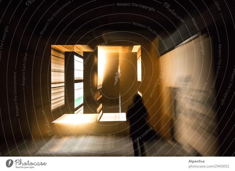 Immer an der Wand lang | nach Kassel Mensch Religion & Glaube Bewegung Tod Kreativität Beginn Zukunft lernen Energie Ewigkeit Vergänglichkeit bedrohlich Trauer