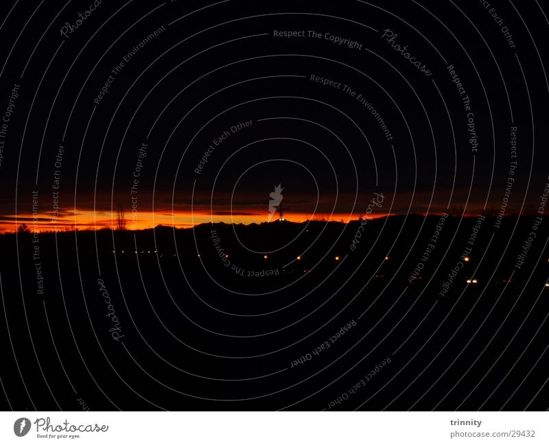 Upcoming sun Sonnenaufgang Morgen Morgendämmerung sunrise
