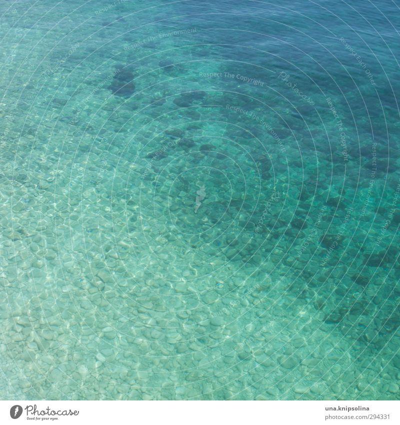 mehr meer Sommer Sommerurlaub Strand Landschaft Wellen Meer Wasser Flüssigkeit frisch nass natürlich Wärme blau türkis Farbfoto Außenaufnahme Detailaufnahme