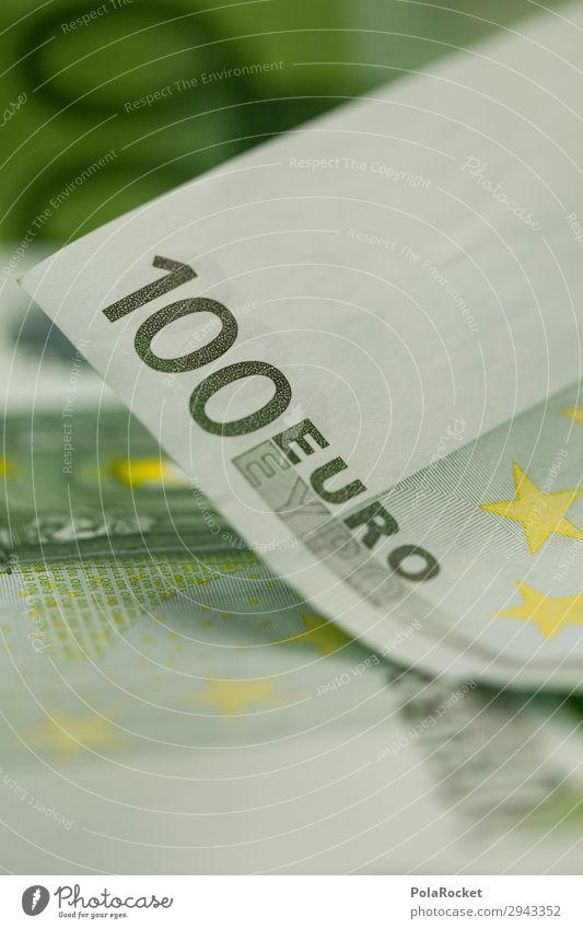 #A# 100 Euronen Kunst Kunstwerk ästhetisch Eurozeichen Geld Geldinstitut Geldscheine Geldgeschenk Geldkapital Geldverkehr Farbfoto Gedeckte Farben Innenaufnahme