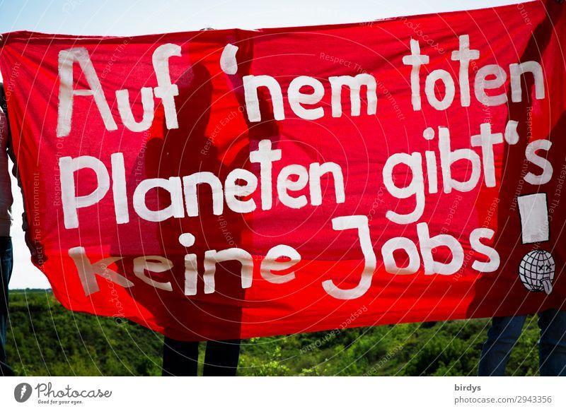 es eilt - wählen gehen weiß rot Bewegung Schriftzeichen Kommunizieren authentisch Zukunft Zeichen Zukunftsangst Wut Gesellschaft (Soziologie) Umweltschutz