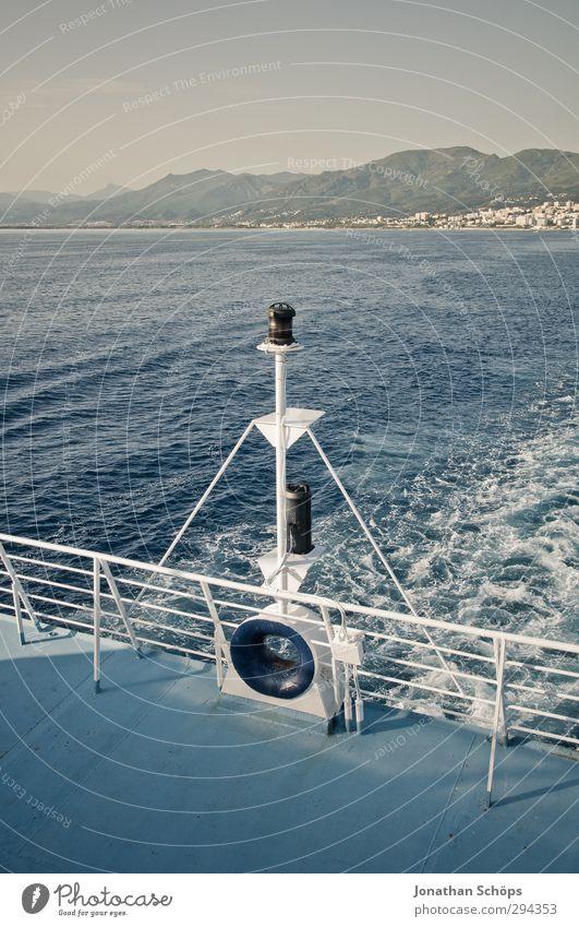 Korsika XXXIX Ferien & Urlaub & Reisen Freiheit Sommer Sommerurlaub Meer Insel Wellen Umwelt Natur Landschaft Mittelmeer Außenaufnahme Menschenleer Tag Licht