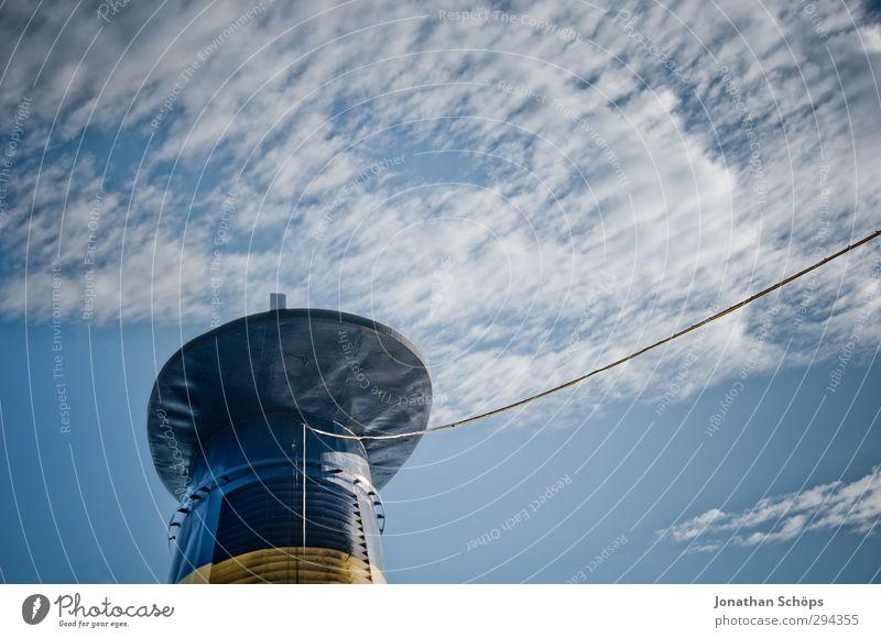 Korsika XL Himmel Ferien & Urlaub & Reisen Sommer Meer Wolken Erholung Freiheit Metall Horizont Wasserfahrzeug groß Seil Sommerurlaub dick Mittelmeer Schornstein