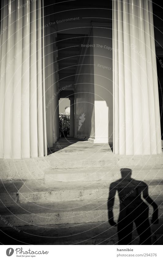 ...sie haben uns ein Denkmal gebaut... alt Treppe ästhetisch stehen Ewigkeit Vergangenheit Wahrzeichen Sehenswürdigkeit Statue Säule Tempel