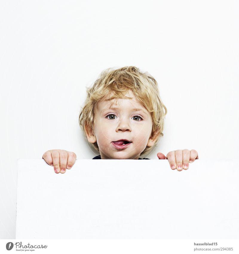 Maxe Mensch Kind Hand ruhig Gesicht Gesunde Ernährung Junge Haare & Frisuren Glück Kopf Gesundheit maskulin blond Kindheit Geburtstag lernen