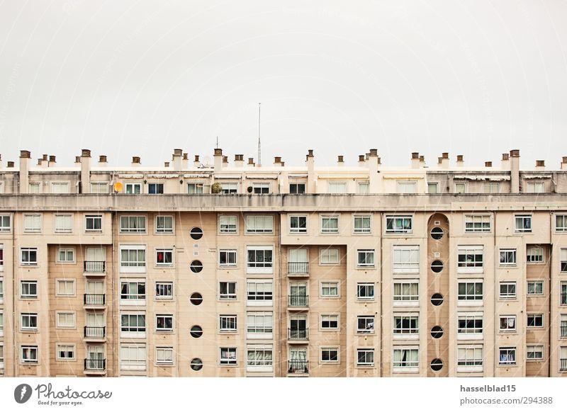 Urbanistik Erholung ruhig Freude Wand Architektur Stil Gebäude Mauer Glück Gesundheitswesen Fassade Arbeit & Erwerbstätigkeit Design Stadtleben Zufriedenheit