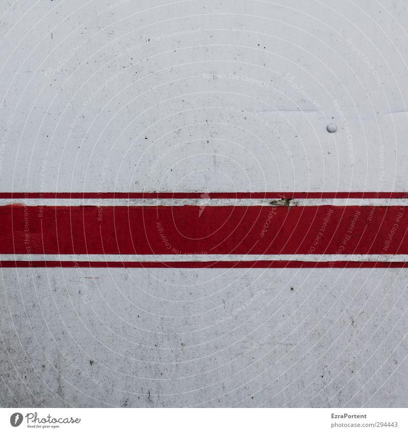 leichte Gebrauchsspuren alt weiß rot Wand Architektur Mauer grau Linie Fassade dreckig Schilder & Markierungen Design Hinweisschild Technik & Technologie