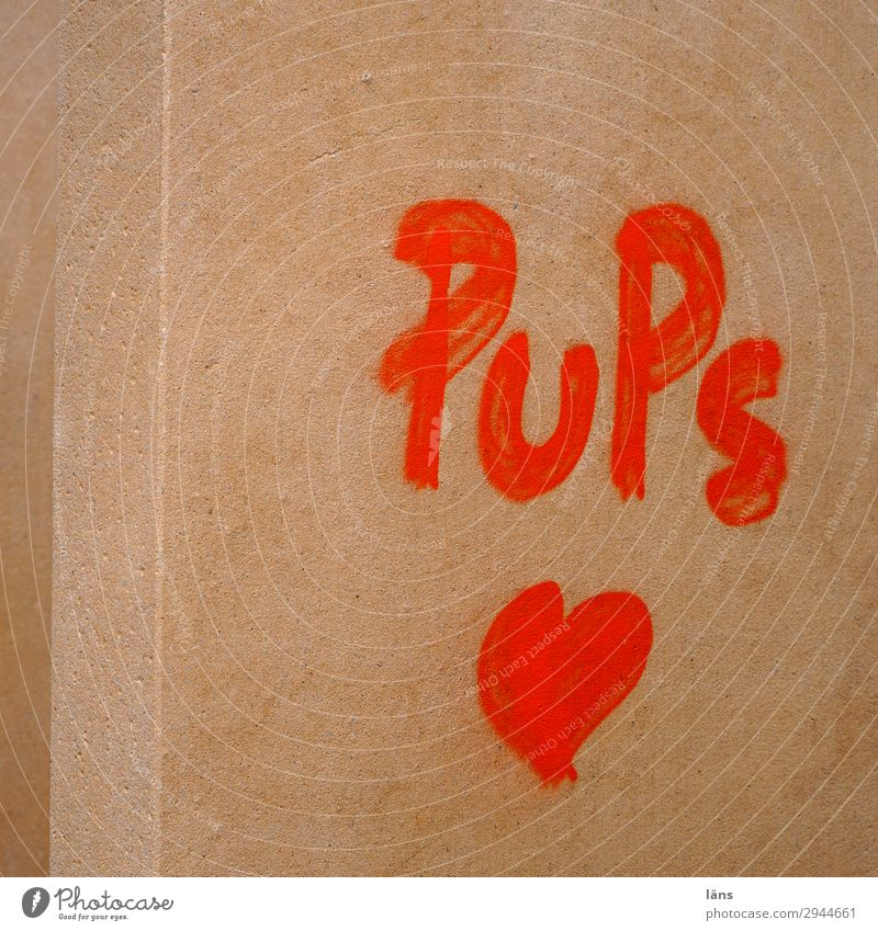 Pups Graffiti Wand Herz Kassel Landkreis Kassel