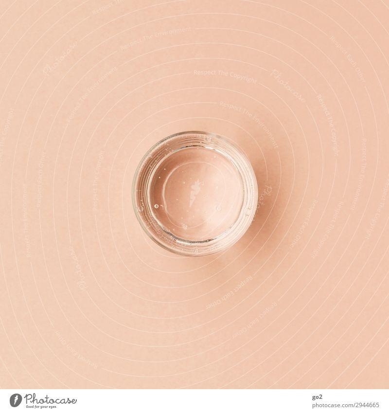 Glas Wasser Gesunde Ernährung schön Erholung ruhig Gesundheit Leben kalt Zufriedenheit frisch Kraft ästhetisch Trinkwasser rund Getränk trinken