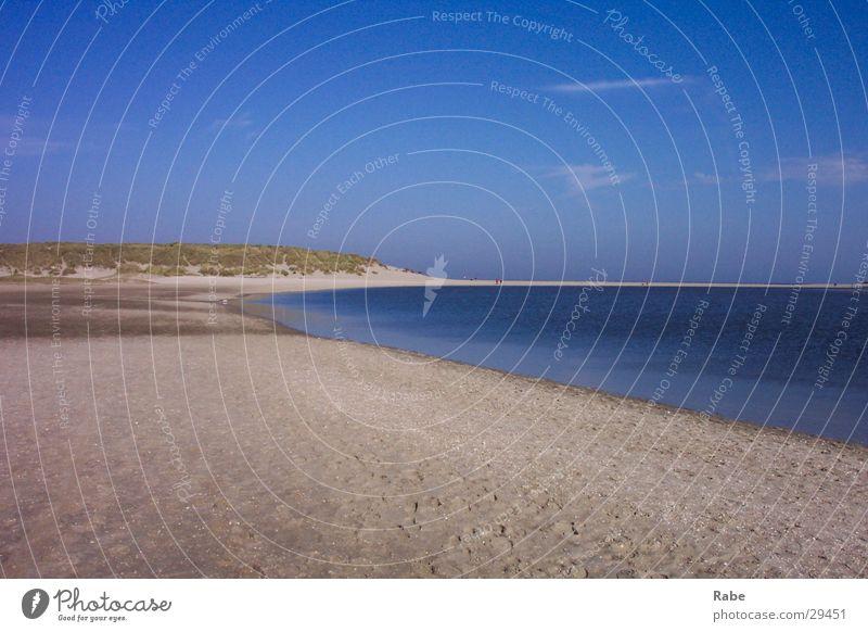 Texel 2003 Niederlande Meer Strand Insel Nordsee Sand Menschenleer