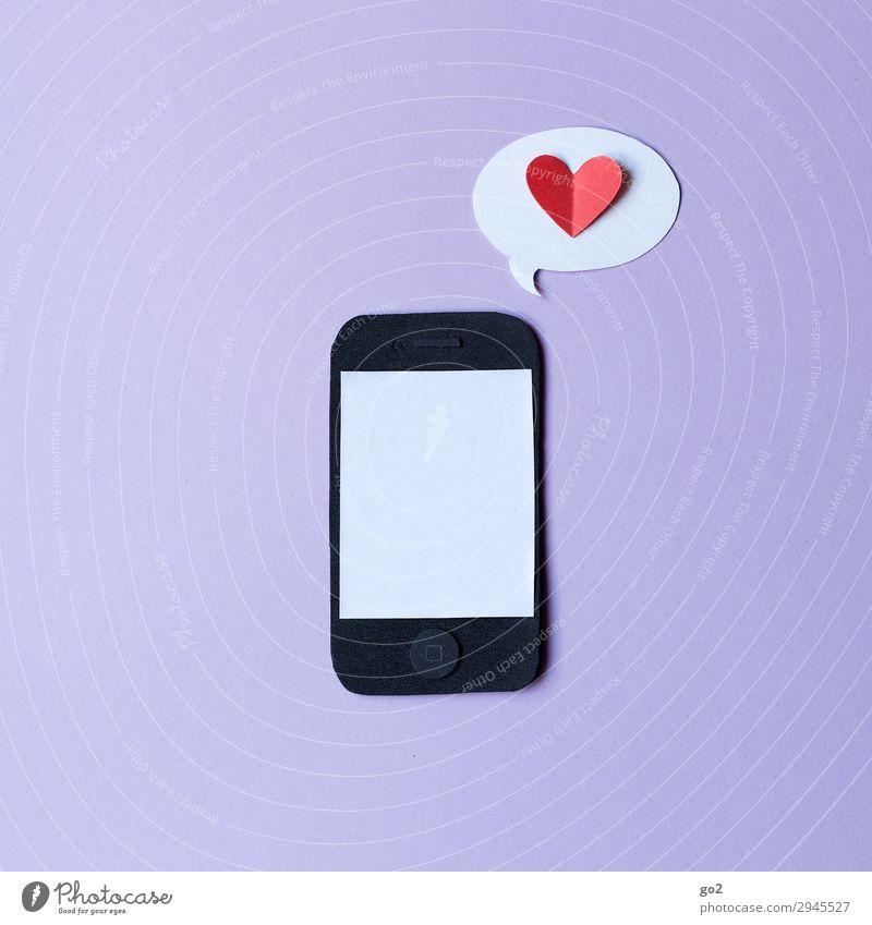 Handyliebe Freude Liebe Gefühle Glück Freizeit & Hobby Kommunizieren Technik & Technologie Telekommunikation Herz Lebensfreude Zukunft Papier Zeichen Internet