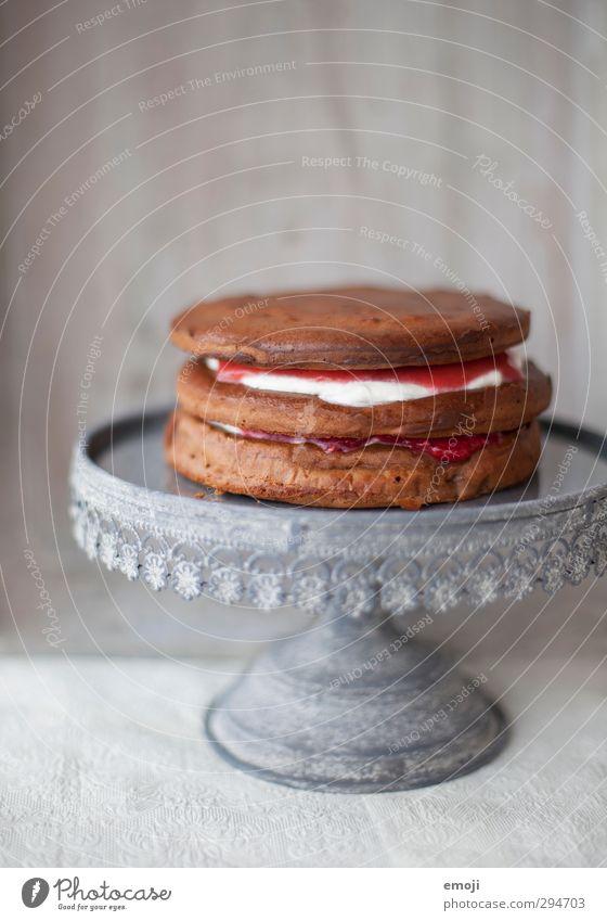 unfertig Kuchen Dessert Süßwaren Ernährung Slowfood Geschirr lecker süß Tortenplatte Farbfoto Innenaufnahme Menschenleer Textfreiraum oben Tag
