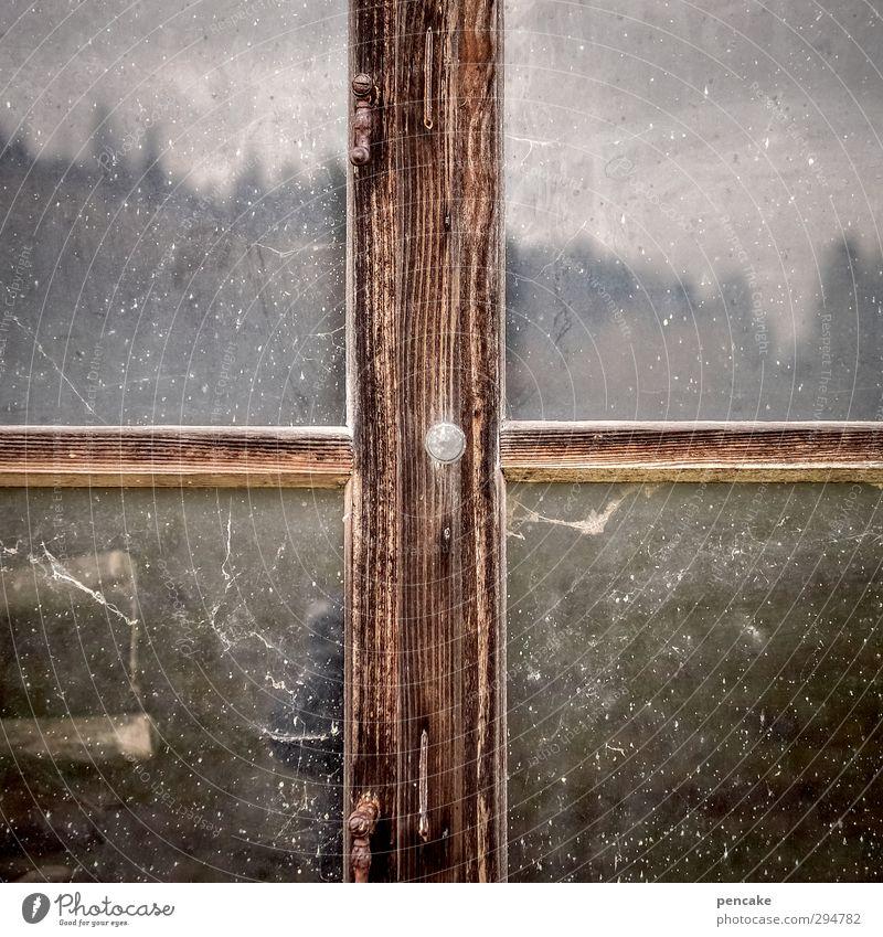 dark side of allgäu Museum Theaterschauspiel Natur Landschaft Urelemente Himmel Wolken Frühling Winter Wiese Wald Hügel Berge u. Gebirge Hütte Fenster Spiegel