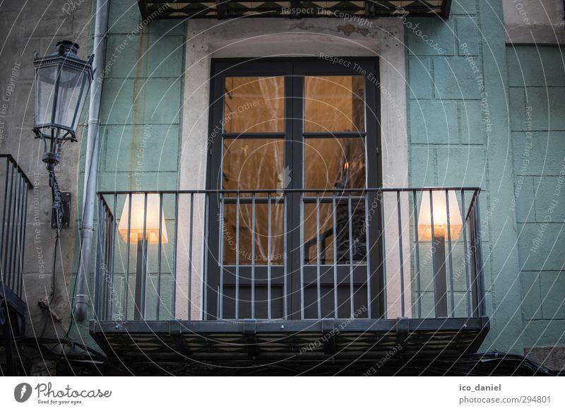 Fenster zum Hof Lifestyle Stil Ferien & Urlaub & Reisen Tourismus Sightseeing Städtereise Nachtleben Barcelona Spanien Europa Stadt Hafenstadt Stadtzentrum