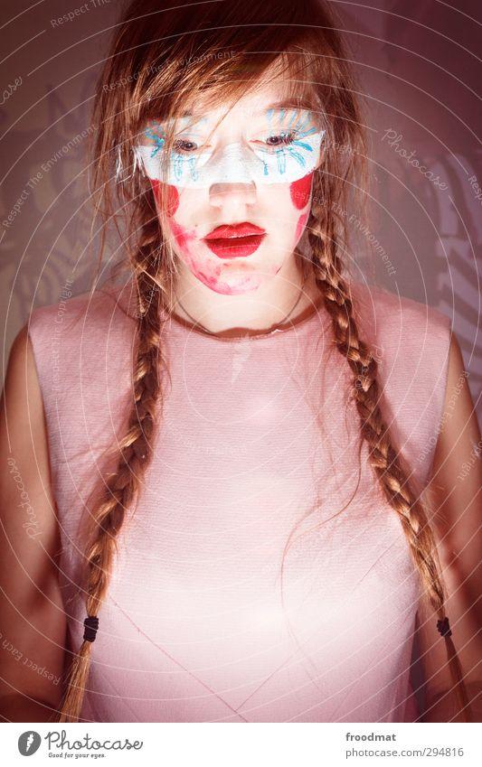 pulp fiction Mensch Frau Jugendliche schön Junge Frau Erwachsene Erotik feminin Haare & Frisuren Party Mode träumen blond verrückt Neugier Karneval
