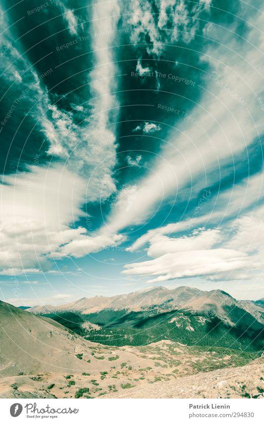 Turn on the Bright Light Natur Landschaft Umwelt Berge u. Gebirge Felsen Wetter Klima Abenteuer Gipfel