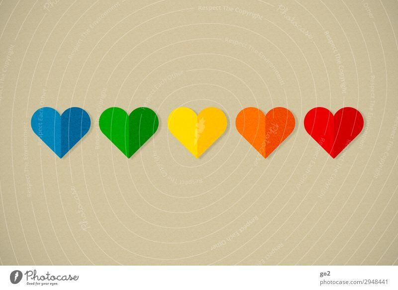 Bunte Herzen Freude Liebe Gefühle Glück Feste & Feiern Zusammensein Freundschaft Zufriedenheit Dekoration & Verzierung Geburtstag Fröhlichkeit Lebensfreude