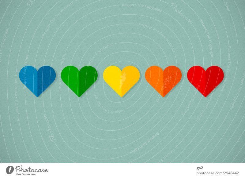Bunte Herzen Party Veranstaltung Flirten Feste & Feiern Valentinstag Muttertag Hochzeit Geburtstag Zeichen ästhetisch außergewöhnlich Fröhlichkeit Gefühle Glück